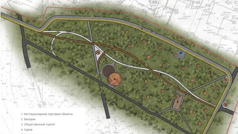 В Воронеже показали предварительный проект реконструкции парка «Дельфин»