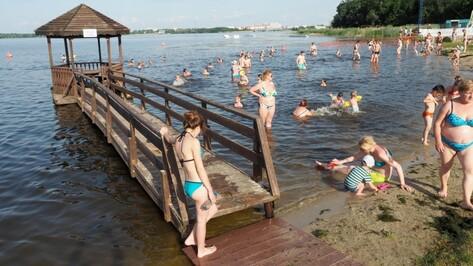 В Воронеже для купания оборудуют 4 пляжа