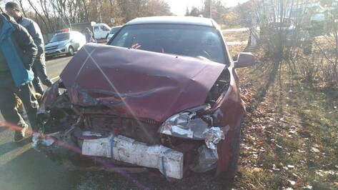 В Борисоглебске столкнулись ВАЗ и Chevrolet: пострадали 5 человек