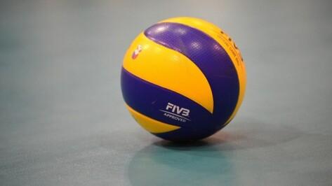 Волейбольный «Кристалл» проиграл «Грозному» в Воронеже
