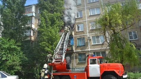 В многоквартирном доме в Павловске произошел пожар