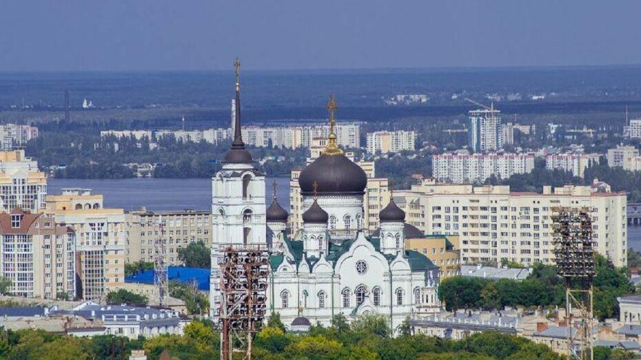 Самым фотографируемым в Воронеже стал Благовещенский собор