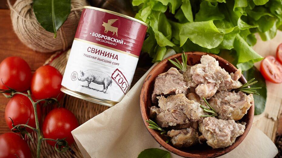 Бобровский мясокомбинат сделал ставку на консервы