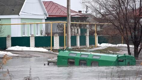 На юге Воронежской области талые воды затопили жилые дома
