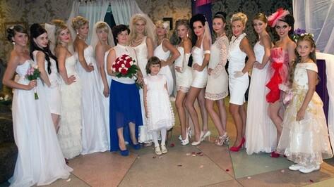 В Лисках прошел показ свадебной моды