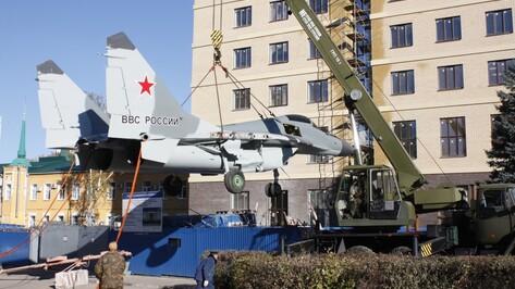 Мемориальный комплекс Военно-воздушной академии в Воронеже откроется до конца 2016 года