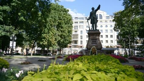 Центральные улицы Воронежа оборудуют светодиодной подсветкой