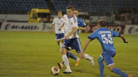 Футболист воронежского «Факела» стал лучшим игроком ФНЛ в сентябре