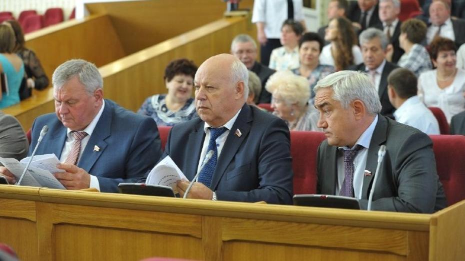 Главами комитетов Воронежской облдумы стали партийцы от «Единой России», КПРФ и ЛДПР