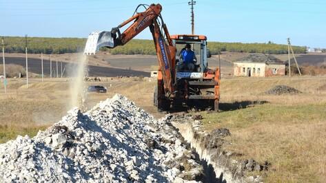 В нижнедевицком селе построят новый водопровод