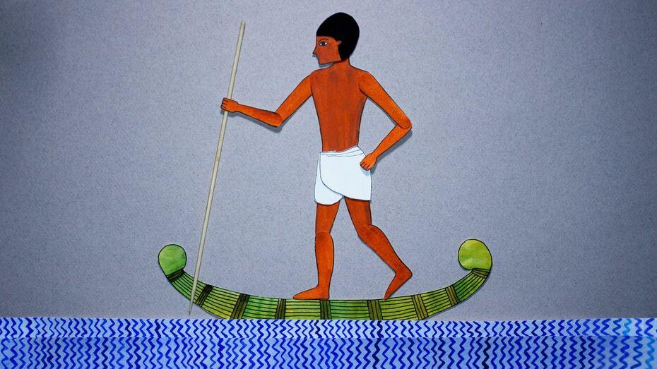 Воронежские художники создали мультфильм о древнеегипетском писце