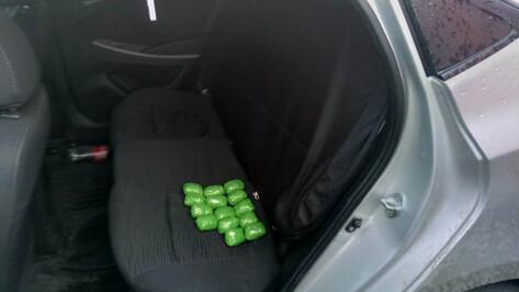 Под Воронежем в иномарке нашли 1,3 кг героина