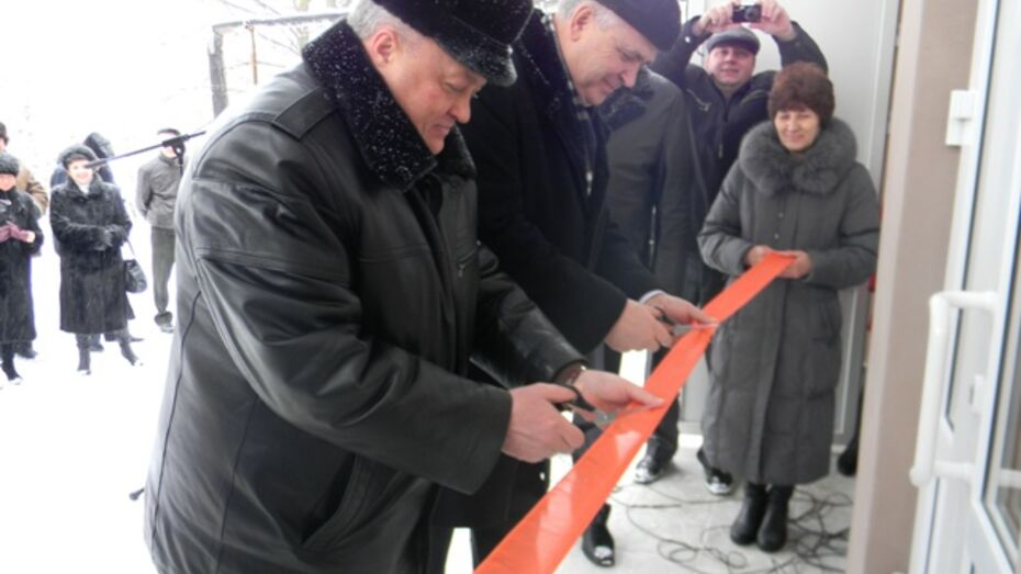 В Подгоренском районе после ремонта открыто инфекционное отделение ЦРБ