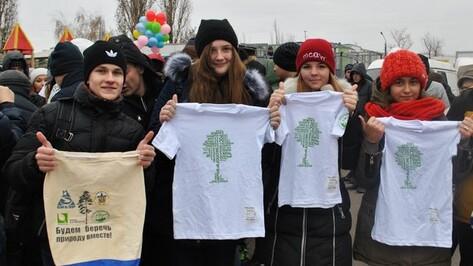 В Лисках в ходе областной акции по сбору вторсырья собрали боле 12 тонн макулатуры