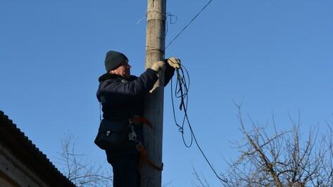 Нижнедевицкие электромонтеры восстановили радио- и телефонную связь