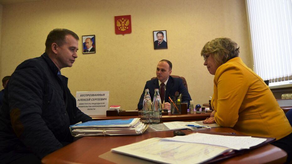 Куратором Семилукского района от облправительства стал вице-премьер Алексей Беспрозванных