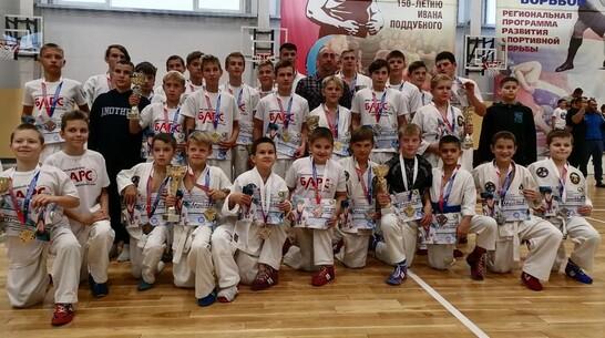 Борисоглебские рукопашники выиграли 13 золотых медалей межрегионального турнира