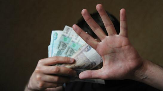 Белгородец ответит в суде за попытку откупа от инспектора ГИБДД в Воронежской области