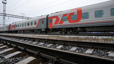 Приостановили продажу билетов на проходящие через Воронеж поезда в Крым