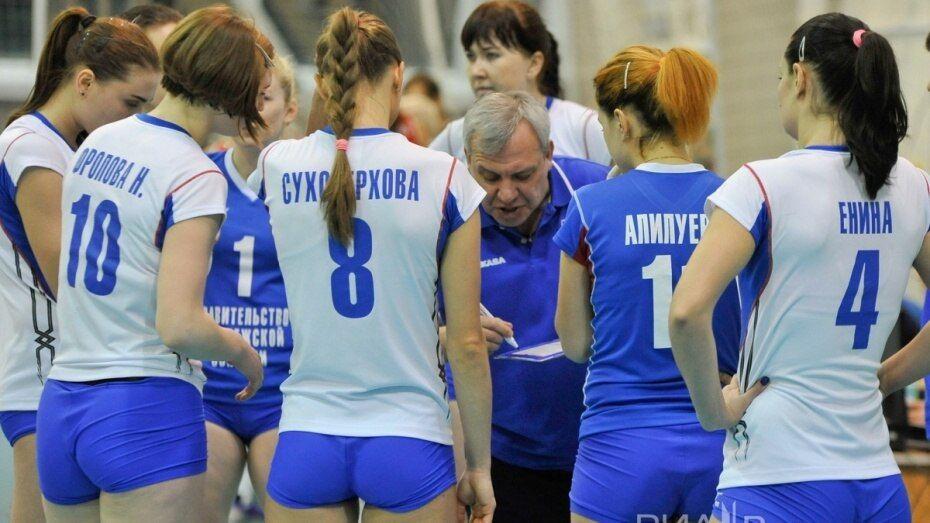 Волейбольный «Воронеж» проиграл дома «Ленинградке»