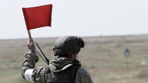 Военные: погибший под Воронежем солдат был контрактником