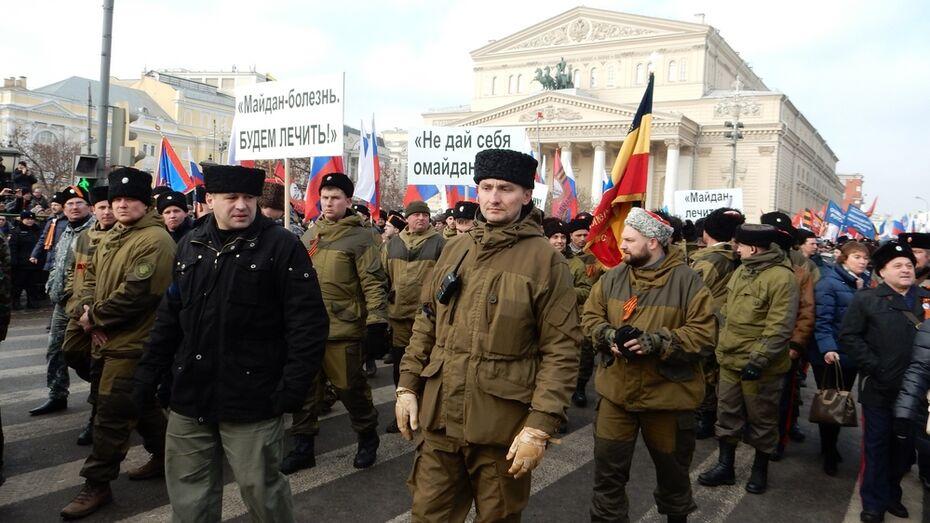 Полиция: в митинге «Антимайдана» в Москве приняли участие 35 тыс человек