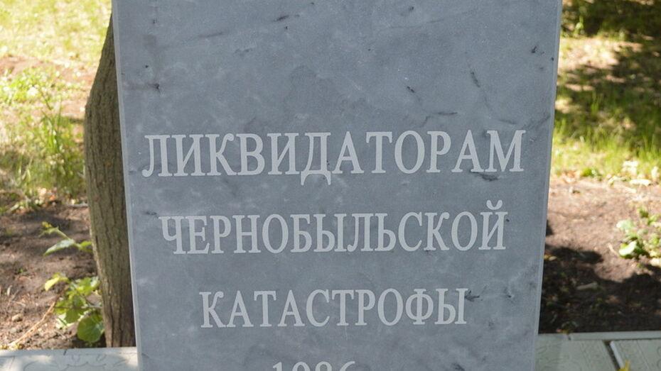 В Рамони вандалы повредили памятник чернобыльцам