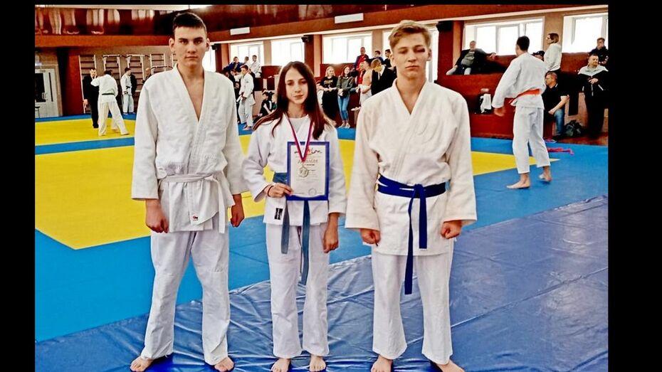 Ольховатская дзюдоистка выиграла «серебро» областной спартакиады