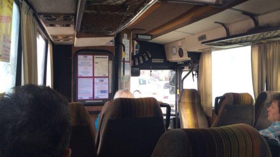 В Воронеже на Московском проспекте столкнулись автобусы «ПАЗ» и Volvo