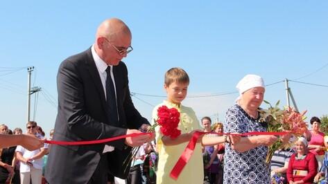 В новоусманском селе открылся обновленный мемориал погибшим в годы войны