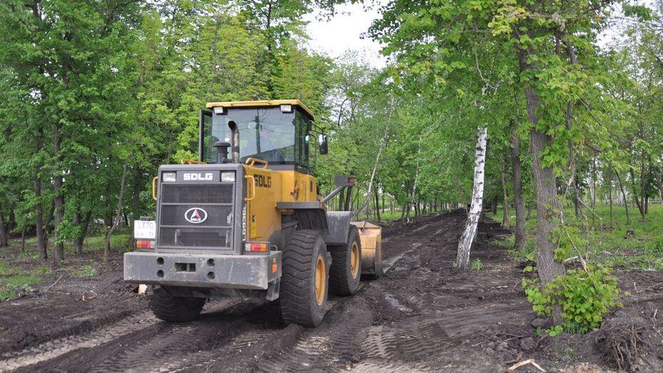 В Павловском районе на благоустройство парка выделили 9,3 млн рублей