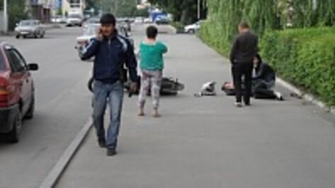В центре Рамони Volkswagen сбил мотоциклиста