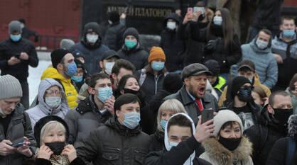 В Воронеже прошла несогласованная протестная акция