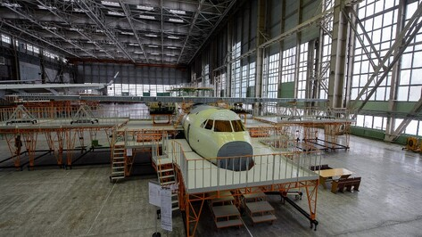 Самолет Ил-112 воронежской сборки совершит первый полет до 1 июля