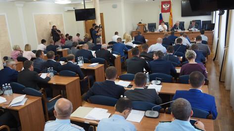 Воронежские депутаты утвердили Сергея Петрина в должности вице-мэра
