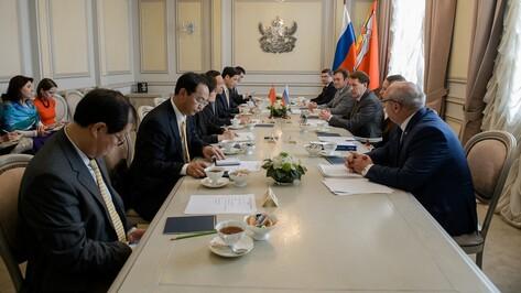 Власти Воронежской области предложили Китаю посотрудничать в сфере туризма