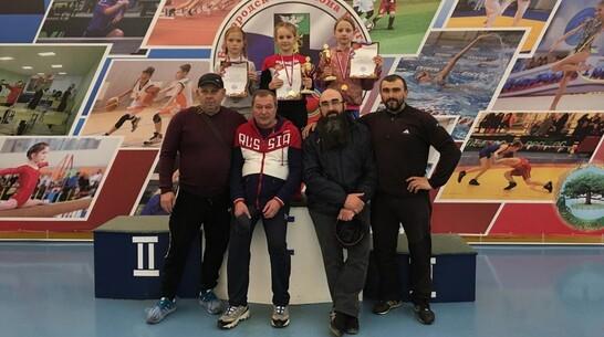 Репьевцы завоевали 2 «золота» в открытом турнире Белгородской области по вольной борьбе