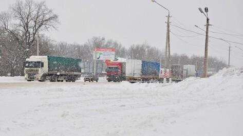 Спасатели назвали 8 опасных участков трасс в Воронежской области