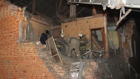 В Воронежской области стены дома рухнули из-за взрыва газа