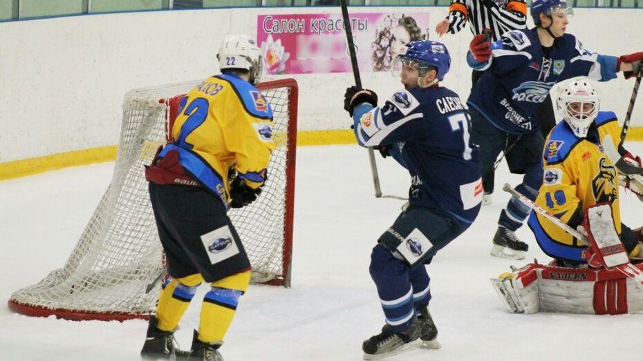Хоккеисты «Россоши» начали плей-офф уверенной победой над «Брянском»