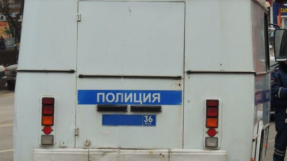 Воронежские полицейские поймали находившегося в розыске наркомана