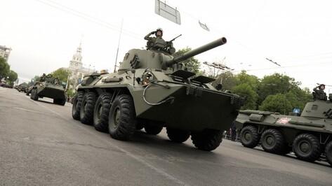 Минобороны РФ опубликовало схему проведения парада Победы в Воронеже