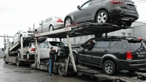 За год вес импортных товаров, ввозимых в Россию через Воронежскую область, упал в 2,5 раза