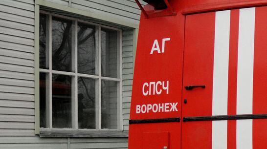 При пожаре в частном доме в Воронежской области погиб мужчина