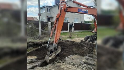 Микрорайон Воронежа остался без воды из-за аварии