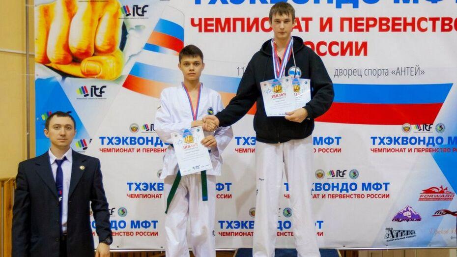Острогожский борец победил в чемпионате России по тхэквондо