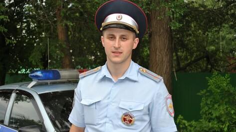Инспектор ДПС из Семилук стал лучшим в области