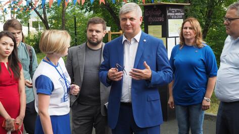 Александр Гусев анонсировал увеличение грантовой поддержки воронежского «Молгорода»