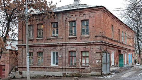 Флигель на улице Сакко и Ванцетти в Воронеже отреставрируют