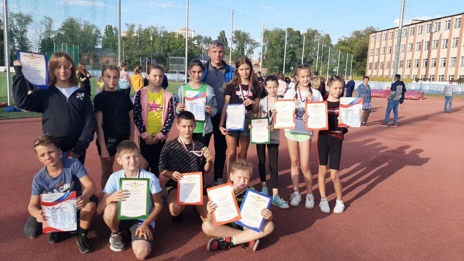 Ольховатские спортсмены завоевали 2 «золота» на областных соревнованиях «Шиповка юных»